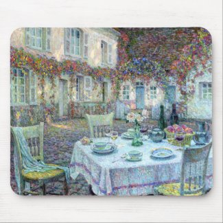 Le Sidaner: Table with Roses at Gerberoy