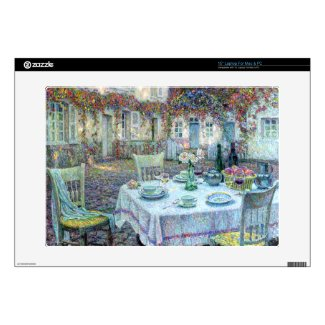 """Le Sidaner: Table with Roses at Gerberoy 15"""" Laptop Decal"""