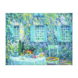 Le Sidaner: The Table and the Sun on the Leaves Gallery Wrapped Canvas