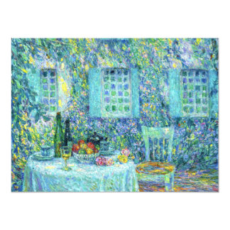 Le Sidaner: The Table and the Sun on the Leaves Card