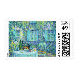 Le Sidaner: The Table and the Sun on the Leaves Postage Stamp