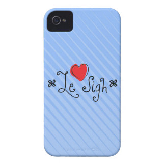 Le Sigh Case-Mate iPhone 4 Case