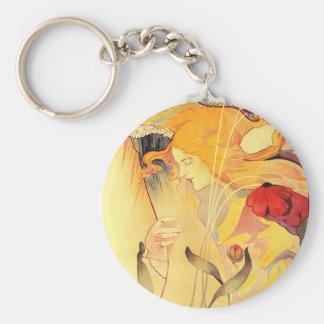 Le Sillon, Fernand Toussaint Keychain