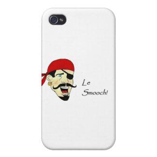 ¡Le Smooch! iPhone 4 Fundas