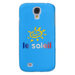 Le Soleil The Sun in French Summer Vacation Samsung Galaxy S4 Case