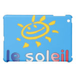Le Soleil The Sun in French Summer Vacation Case For The iPad Mini