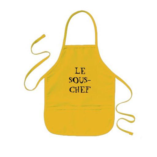 LE    SOUS-CHEF KIDS APRON