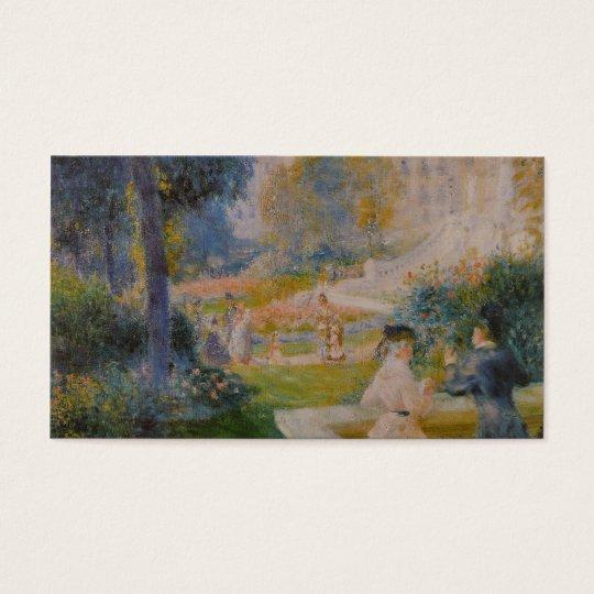Le Square de la Trinité - Pierre Auguste Renoir Business Card