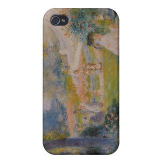 Le Square de la Trinité - Pierre Auguste Renoir iPhone 4 Cover