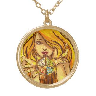 Le stagioni del cuore gold plated necklace