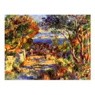 Le Staque by Pierre Renoir Postcard