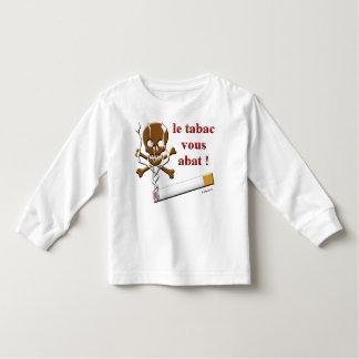 le tabac vous abat toddler t-shirt