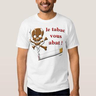 le tabac vous abat tshirts