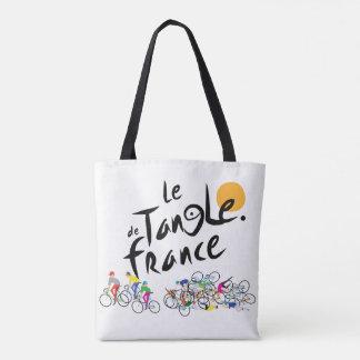 Le Tangle de France (Le Tour de France) Tote Bag