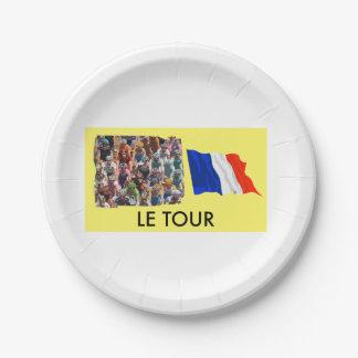 Le Tour 7 Inch Paper Plate