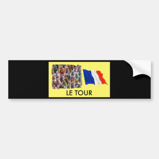Le Tour Bumper Sticker