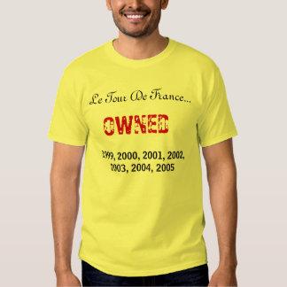 Le Tour De France..., OWNED, 1999, 2000, 2001, ... Tee Shirt