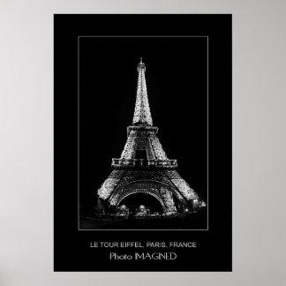 LE TOUR EIFFEL, PARIS, FRANCE POSTER