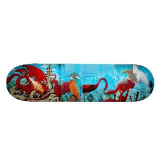Le Transformateur  - Skate Art Mural Deck Skate Board Deck