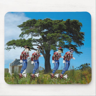 Le Tree Dribble Mouse Pad