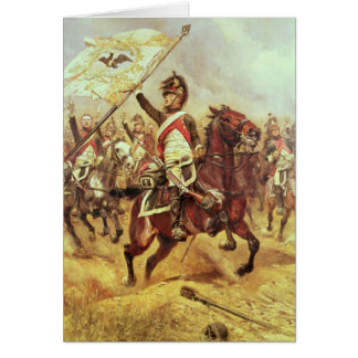 'Le Trophee', 1806, 4th Dragoon Regiment, 1898 Card