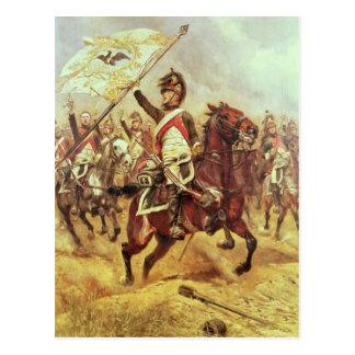 'Le Trophee', 1806, 4th Dragoon Regiment, 1898 Postcard