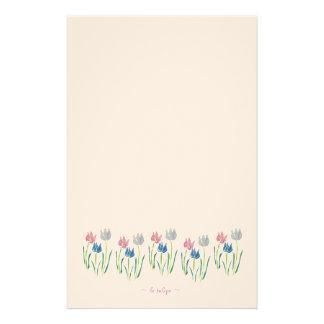 le tulipe stationery design