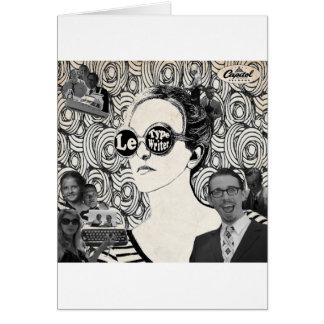 Le Typewriter Album Cover Card