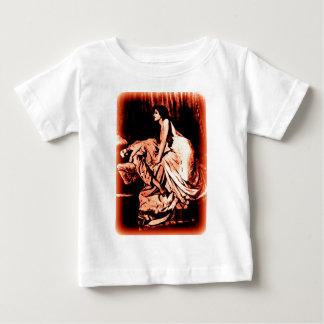Le Vampire by Burne-Jones 1897 (RED) Baby T-Shirt