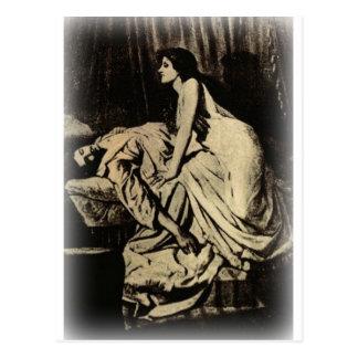 Le Vampire de Burne-Jones 1897 Postales