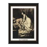 Le Vampire de Burne-Jones Lona Envuelta Para Galerías