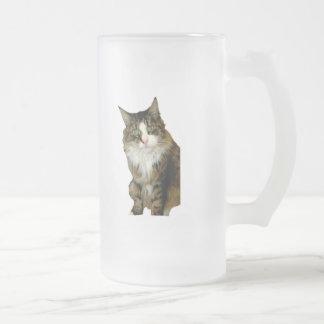 le veo taza de cristal