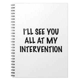 Le veré todo en mi intervención libro de apuntes