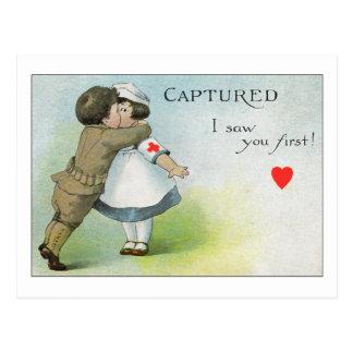 Le vi primero postal