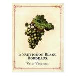 Le Vin Blanc Postales