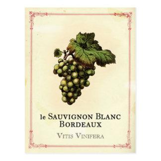 Le Vin Blanc Tarjetas Postales