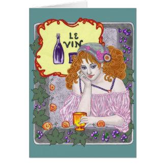 Le Vin Deux Cards