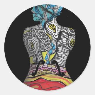 Le Violon d'Ingres Sticker