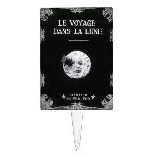 Le Voyage dans la Lune /A Trip to the Moon 1902 Cake Topper