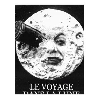 Le Voyage Dans La Lune (A Trip to the Moon) Letterhead