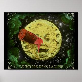Le Voyage dans la Lune/A Trip to the Moon Poster