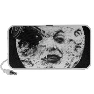 Le Voyage Dans La Lune (A Trip to the Moon) Notebook Speakers