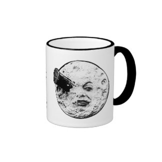 Le voyage dans there lune ringer coffee mug