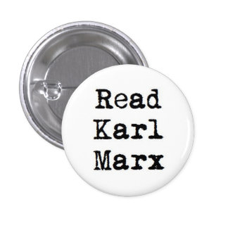 Lea a Karl Marx Pin Redondo De 1 Pulgada