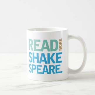 Lea a más Shakespeare Taza Básica Blanca