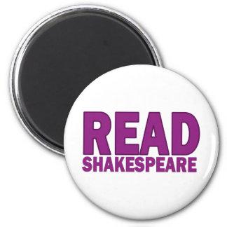 Lea a Shakespeare Imán Redondo 5 Cm