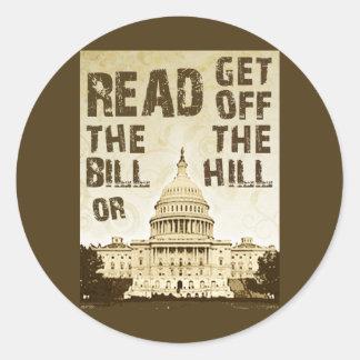 Lea al Bill Etiqueta