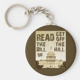 Lea al Bill Llavero Redondo Tipo Pin