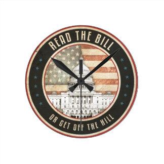 Lea al Bill Reloj Redondo Mediano