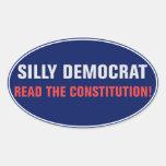 Lea al pegatina de la constitución